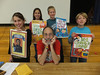 Noted children's author Dan Gutman shared his insight as a writer with Brooke Elementary and Oaks Elementary schools, discussing how his passion for sports led him to his success as a writer.  His presentation took students through the steps of the writing and publishing process,  leading to the finished book.  Gutman is the author of over 100 books and e-books, including the popular My Weird School series, the award-winning Baseball Card series, and his newest series, Genius Files.<br /> Submitted photos