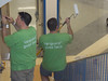 "Vanguard Investment Corp. employees along with family members and representatives of the Pottstown School District participated in the annual ""Day of Caring"" on a Saturday morning sponsored by United Way of Southeast Pennsylvania. This year's projects included the painting of several of the middle school stairwells and repainting of the stadium press box.  <br /> Working side-by-side with Vanguard volunteers were Middle School Principal Gail Cooper and Supervisor of Buildings and Grounds Bob Kripplebauer, John Armato, Director of Community Relations,  Matt Blute from the Athletic Department and  Nick Yonas from the Buildings and Grounds crew who prepared all of the supplies needed.<br /> <br /> Submitted by Pottstown School District"