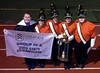 The members of the Perkiomen Valley Marching Vikings Band took first place in the Group 4A USBANDS Pennsylvania State Championships held at Kutztown University. They outscored bands from Coatesville, West Chester Rustin, Pleasant Valley, and Council Rock South, and also won the awards for Best Music, Best Visual, Best Overall Effect, and Best Percussion in their division. The championship banner and trophy are on display in the Band Room.<br /> <br /> Submitted by David Overholtzer