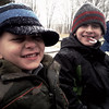 Charity Wetzler Tabor submitted this photo via Facebook of her sons, Declan and Finlay taking a horse and carriage ride at Daniel Boone Homestead yesterday.