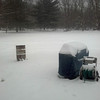 """Dawn Van Zile submitted this photo via Facebook and said, """"My back yard is so pretty when it snows!"""""""